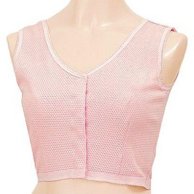 ピンクの胸帯